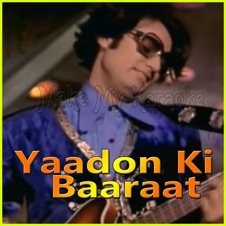 https://makemykaraoke.com/aap-ke-kamre-mein-yaadon-ki-baaraat-video.html   Song Name : Aap Ke Kamre Mein    Movie/Album : Yaadon Ki Baaraat    Singer(s) : Kishore Kumar, Asha Bhosle, R. D. Burman   Year Of Release : 1973   Music Director : R. D. Burman   Cast In Movi...