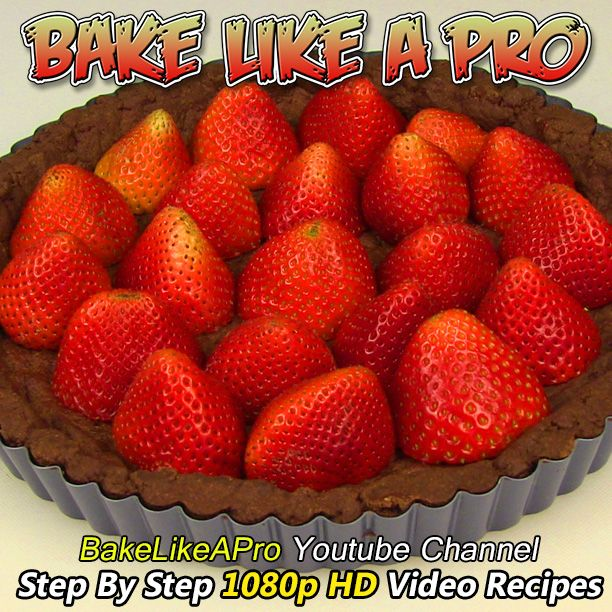 Chocolate Strawberry Tart Recipe - Chocolate Crust / Chocolate Ganache Filling !   Click the picture, it will take you to my full video recipe on my Youtube channel.      Please subscribe, like and share if you can, I do appreciate it. ► http://bit.ly/1ucapVH  #chocolate #chocolatetart #tart #tarte #strawberry #strawberries #baking #recipe #recipeshare #food #baking #love