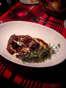 簡単!牛肉の赤ワイン煮込みブルゴーニュ風