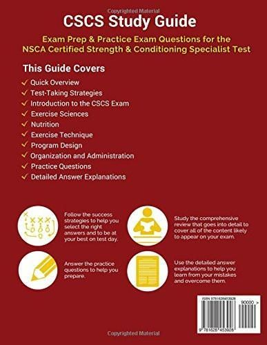 8 best Certified Strength and Conditioning Specialist (CSCS) Exam