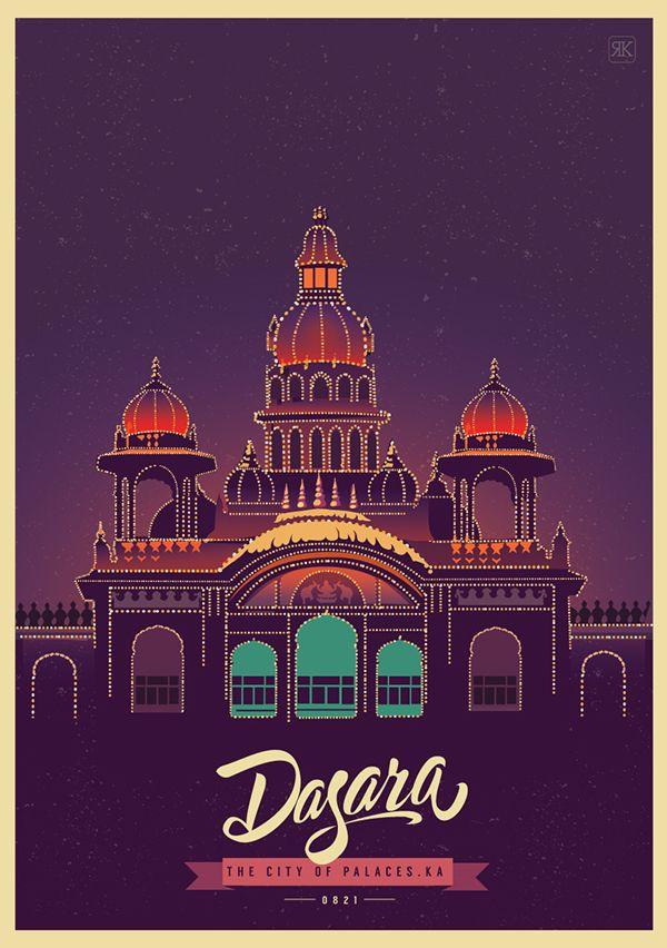 FESTIVAL OF LIGHTS by ranganath krishnamani on Behance | Celebrating | India | Art Direction | Illustration | City |