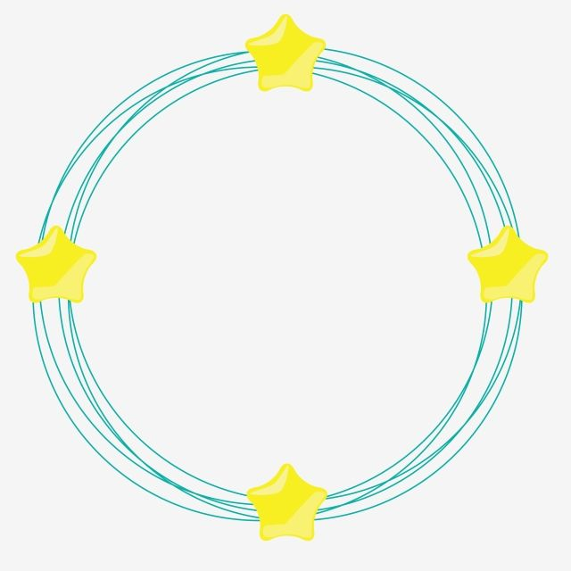 Circle With Stars Circle Cercles Round Png And Vector With Transparent Background For Free Download Circle Graphic Design Background Templates Stars