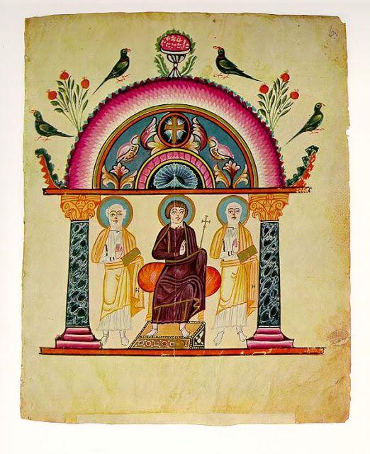 Los doce frutos del Paraíso en el Arte Medieval | Cartivana