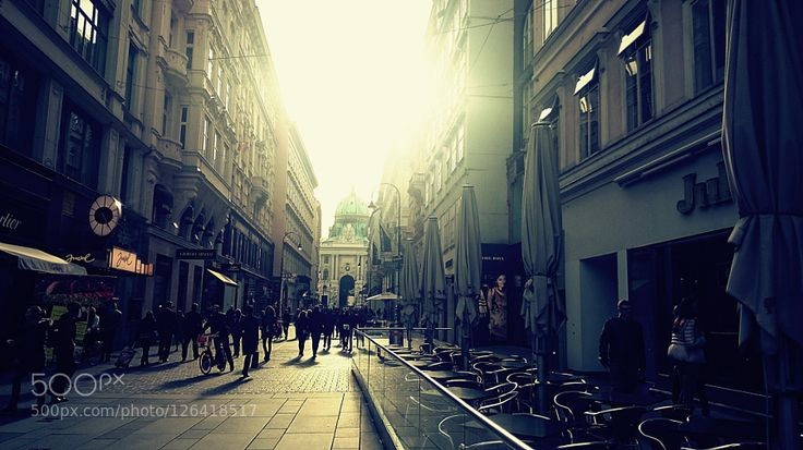 sunny city street by mirjanablagojevic #Architecture #fadighanemmd