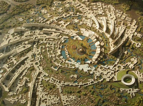 "The mheu | Utopian city: Auroville or ""divine anarchy"""