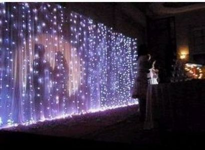 special effect lighting for parties | String Light & Fairy Lights - LED Light waterfall effect - Party ...: