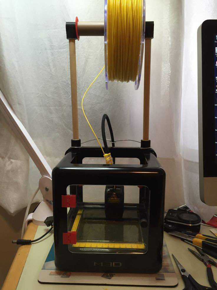 M3D Printer with wire support