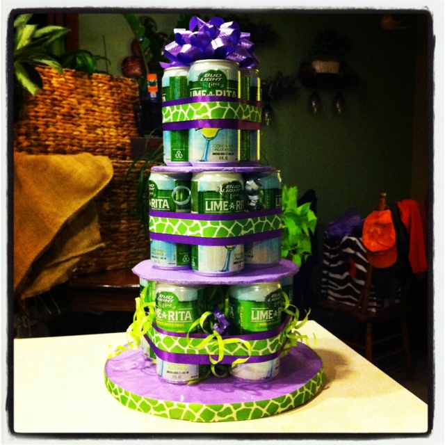 Bud Light Lime-a-Rita Cake!