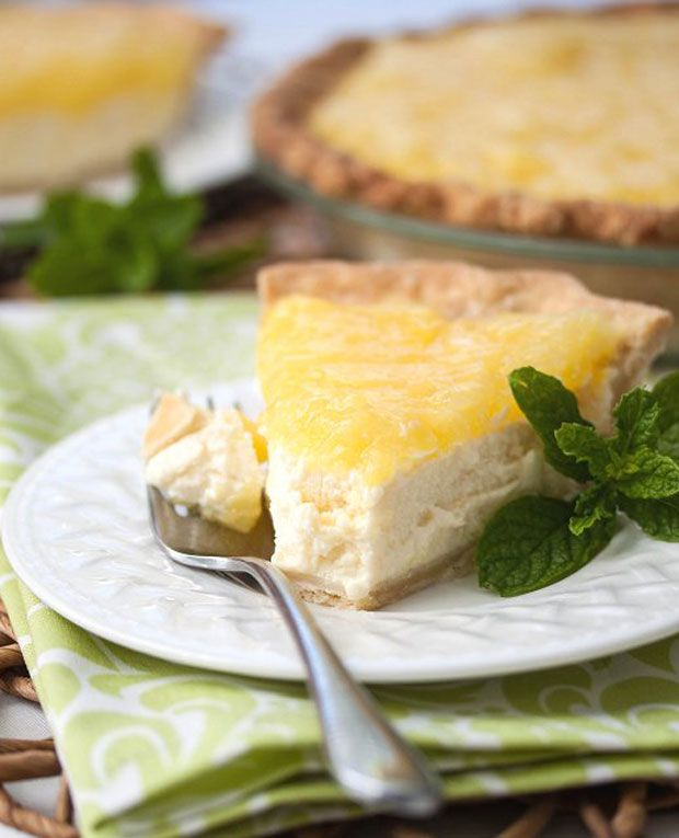 AUTHENTIC ITALIAN DESSERT RECIPES | Ricotta-Pineapple Pie Recipe - RecipeChart.com