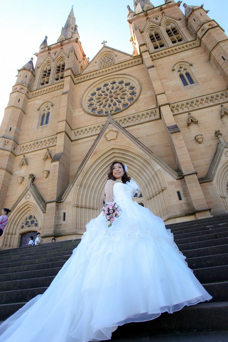 at St Mary's Cathedral, Sydney