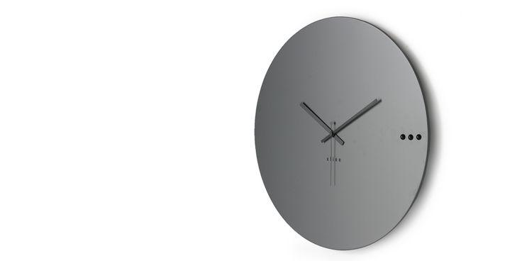 Ρολόγια τοίχου. Wall clock tre grey 95€ | xline
