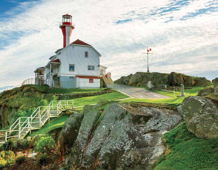 2017 Promotional Calendars - Atlantic Canada  Atlantic Canada Scenic Maritime Provinces - April  Cape Forchu Lighthouse, Nova Scotia