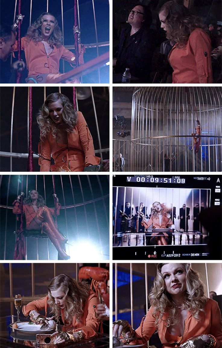 Taylor Swift BTS of the Look What You Made Me Do Music Video