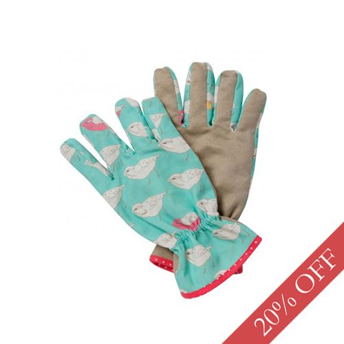 Grey skies... a little damp underfoot... we say it's the perfect day for a spot of weeding! And yes, even when wearing your wellies, Dotty Home can bring you style by make you look glam in your garden with these fabulous bluebird gardening gloves by Retreat. Currently in our Mid Season Sale at a fantastic 20% OFF, why not treat yourself to a pair?! (We also have a matching kneeler for those who want to get a even more stuck in!). Were £14.99 Now £11.99.  Available ONLINE at www.dottyhome.com