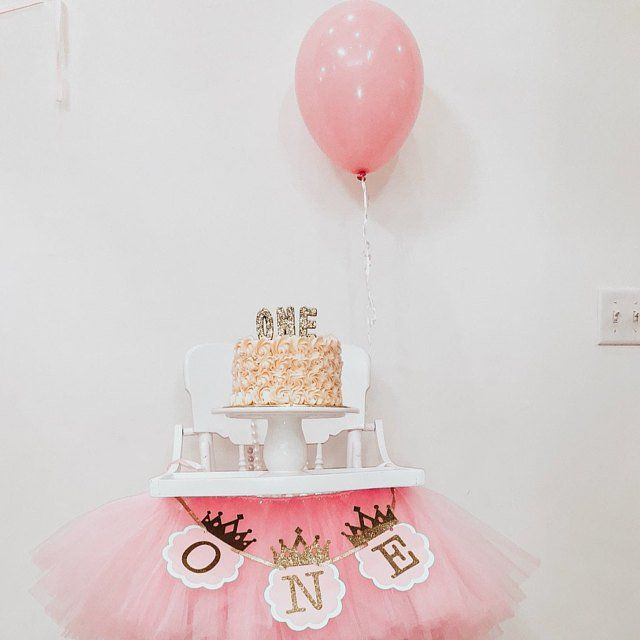 First Birthday Princess Party Gold One Candle Gold Glitter Candle Republic O Pink And Gold Birthday Party Gold Birthday Party Decorations Gold Birthday Party