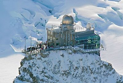 Jungfraujoch, Swtizerland- Highest train station in the world