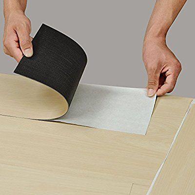 [neu.haus] Vinyl-Laminat (1m²) Selbstklebend (7 Dekor Dielen = 0,975 qm) Design Bodenbelag / gefühlsecht / strukturiert