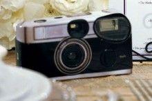 Wegwerpcamera flashback vintage voor je bruiloft