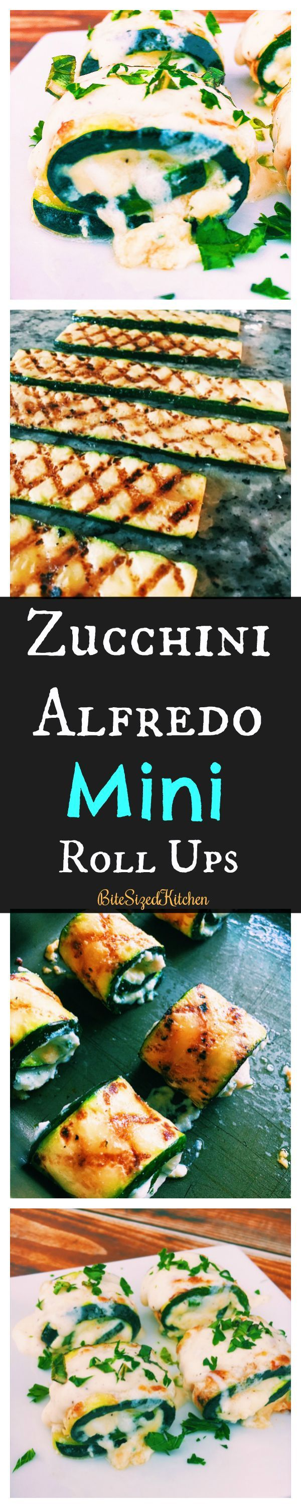 Quick Easy appetizer to make for a party |Zucchini Roll Ups | easy roll ups | zucchini alfredo bites | vegetarian  appetizer