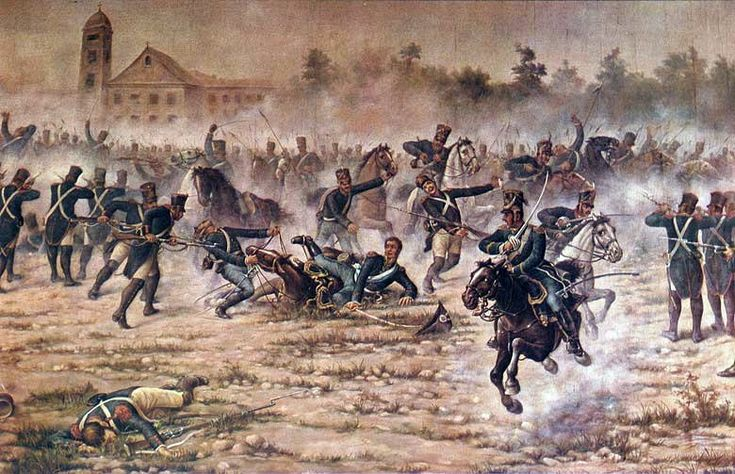 Batalla de San Lorenzo, 1813 Autor:Ángel della Vallle.jpg