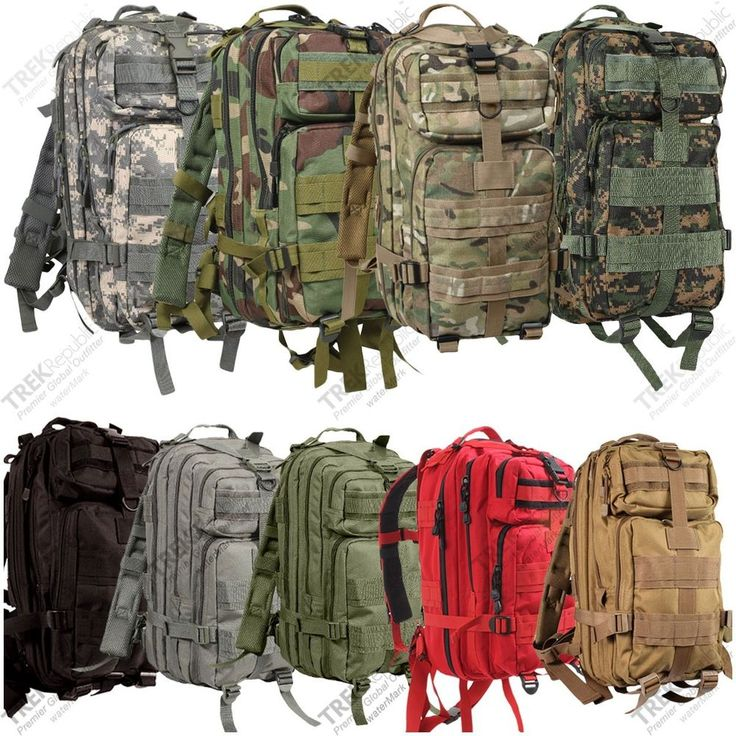 Military Outdoor Tactical Molle Backpack Camping Hiking Survival Rucksack #Rothco #MediumTransportBackPack. $45
