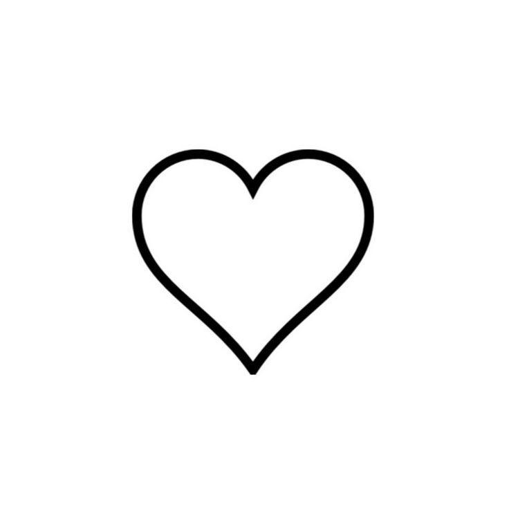 Black Ink Small Perfect Heart Tattoo Design Idea J Simple Tattoo Designs Heart Tattoo Heart Tattoo Designs