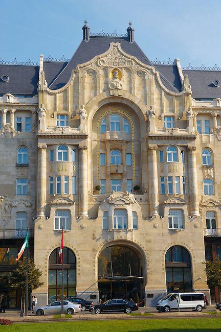 Four Seasons Hotel- Gresham Palace - Budapest - Hungary