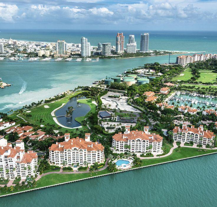 Fisher Island Miami Beach, Florida water sky outdoor bird