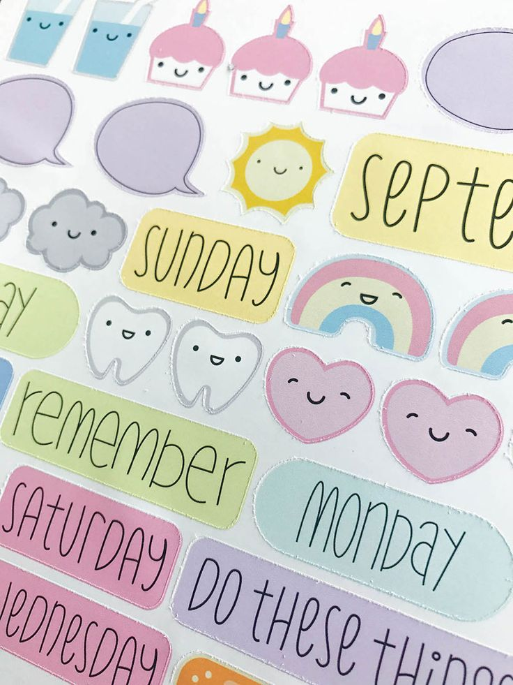how to make your own planner stickers to sell