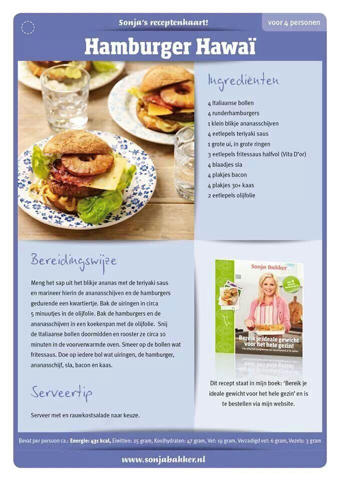 Hamburger hawai, Sonja Bakker