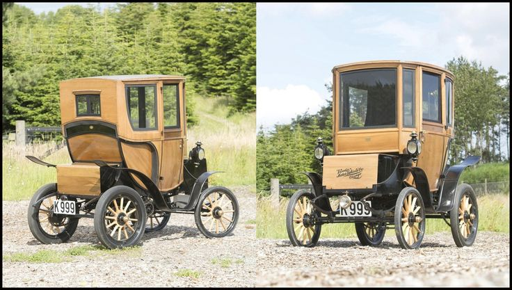 A 110 Year Old Electric Car Sells For $95,000 At Auction ...   #ElectricCar #EV #Auction #QueenVictoria
