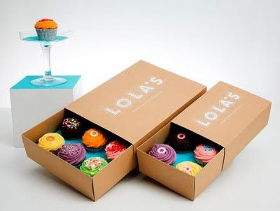 Memo: Notable Graphic Design: Creative Cupcake Packaging #cupcake-boxes