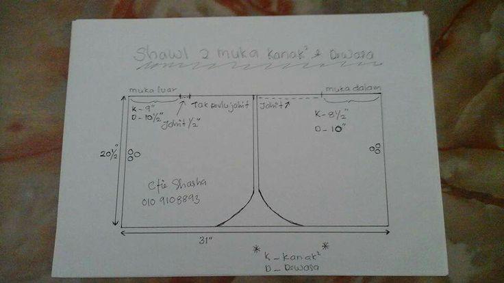 Shawl 2 muka