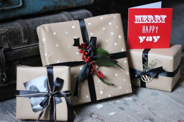 Fabriquez vos paquets cadeaux