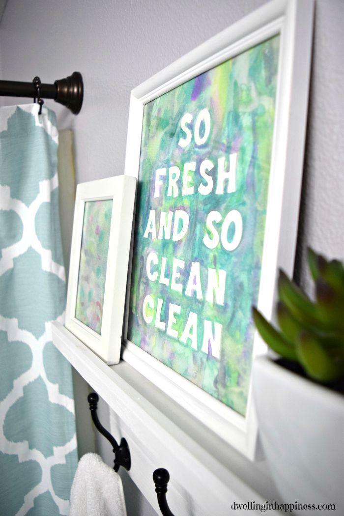 So fresh and so clean clean.