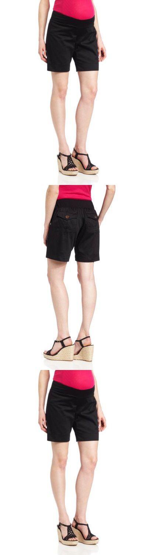 Everly Grey Women's Maternity Miren Shorts, Black, Small