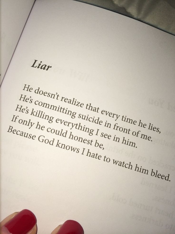 meeow-xo:  This is exactly what i think about liars.