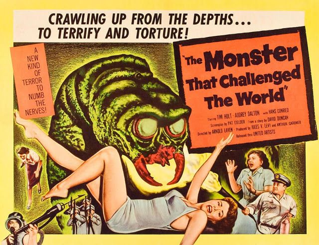 Great Moments in Creature Feature Special Effects History: The Monster That Challenged the World (1957)