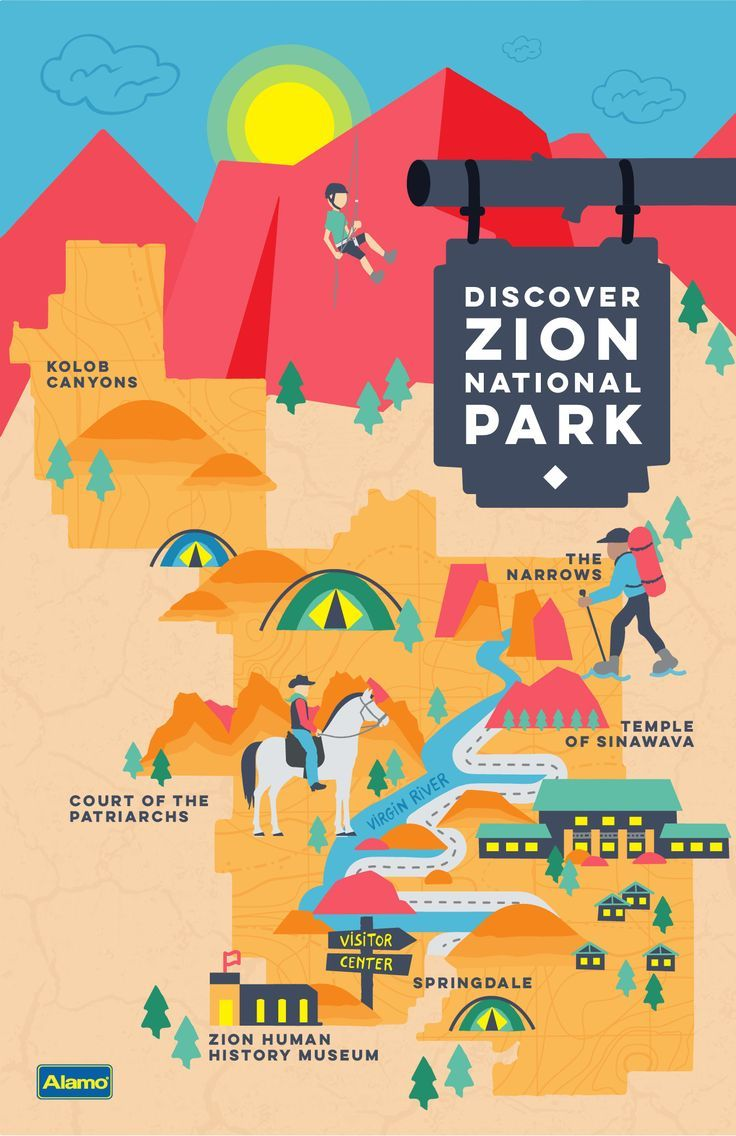 Planning a trip to Zion National Park? Find out how to get there and when to visit, along with the best hikes and hotels to make your trip one to remember. // Article by Alamo