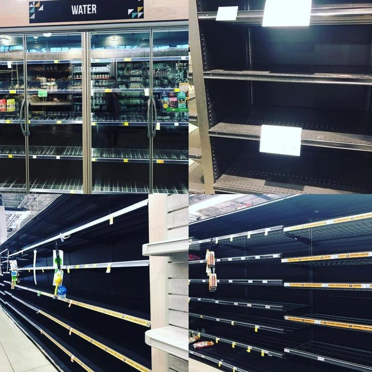 From @ajrobach in Miami - The scene tonight is a familiar one across much of Florida: empty shelves of water and non-perishable items. Amy is live in Miami leading our coverage in Florida where evacuations for millions are under way ahead of #Irma.