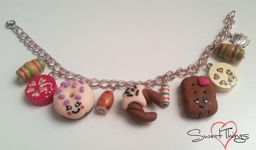 Bracelet with Kawaii charms