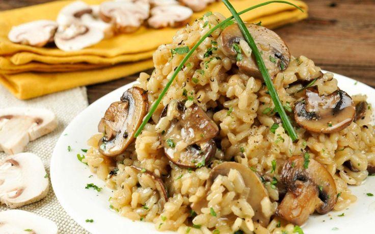 Truffled Mushroom Risotto [Vegan, Gluten-Free]   One Green Planet
