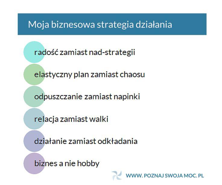 Zbiór 6 zasad strategii, które są fundamentem moich działań w biznesie nie powstał przypadkowo.