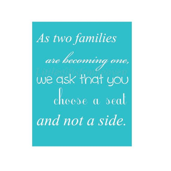 Two families become one print two families by Littlegiftsfrmheaven, $14.00