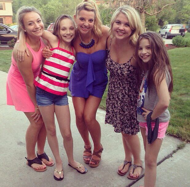 Malena, Maddie, Ryleigh, Elissa, And Kenzie At Ry's