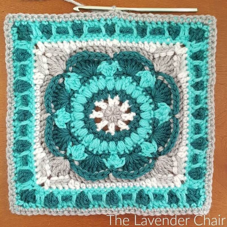 This is square # 4 of the Mandala Blanket CAL Add to your Favorites/Queue on Ravelry Materials: Lion Brands Vanna's Choice (Worsted Weight Yarn) I 5.50mm Crochet Hook Yarn Needle Difficulty: Experienced Gauge: 4Hdc = Approx 1 inch Size: 12″ x 12″ Stitches: CH: Chain- Yarn over pull through one loop. SS: Slip stitch- Insert …