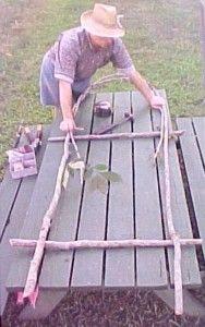 Making Bent Wood Trellis Arbor Gate Fence Building Home Green Work Rustic Garden | eBay