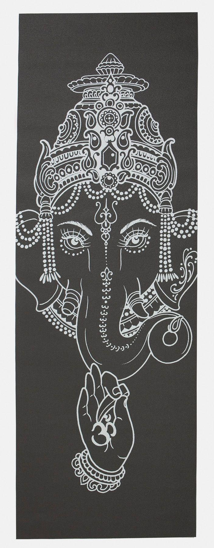 Image of Ganesh stone - yogamat by yoniyoga