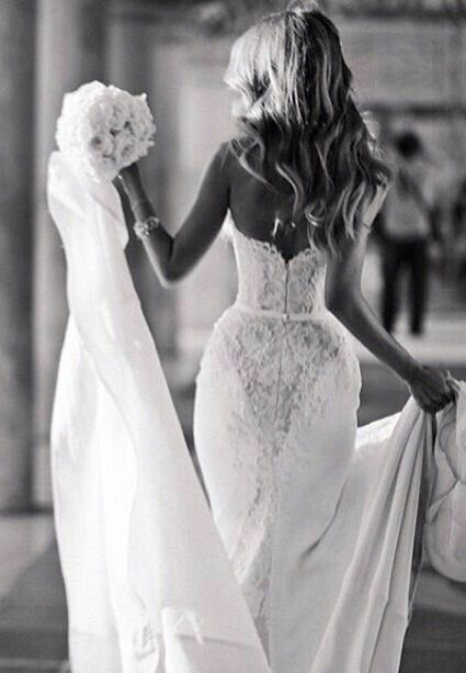 That's how I've always wanted my wedding dress to be