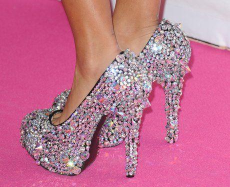 Runway Pink Glam Heels eLAx5ExpO